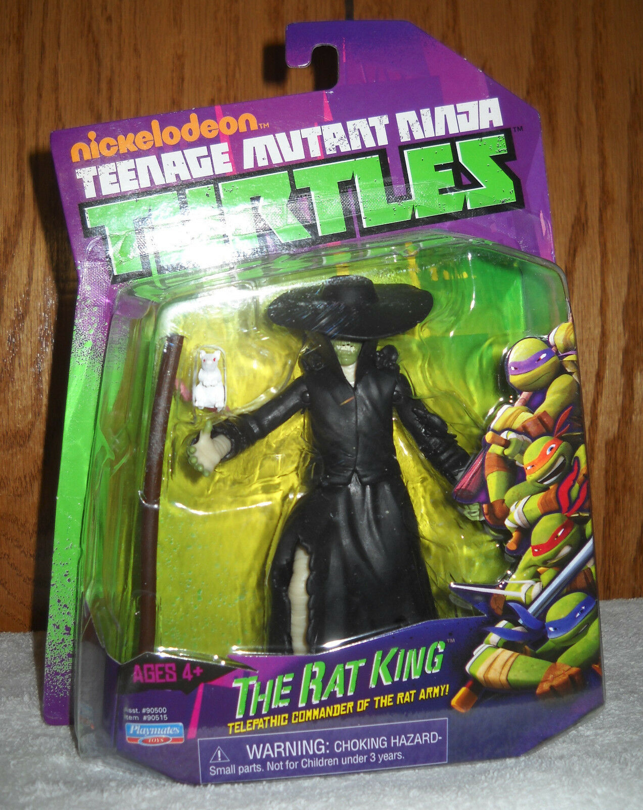 NOC Teenage Mutant Ninja Turtles the Rat King Figure