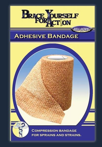 Adhesive Bandage Gauze Dressing Compression Sprains Strains Self Adhering Wrap