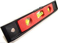 """Mini Spirit Level Torpedo Spirit Level Magnetic Spirit Level Pocket 9"""" 23cm New"""