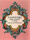 Beethoven: Symphonies Nos. 8 and 9 (Full Score) by Ludwig van Beethoven (Paperback, 1989)