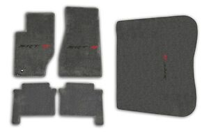 2005-2008-Jeep-Grand-Cherokee-SRT-8-Grey-Carpet-5pc-Floor-Mat-Set-with-Logo
