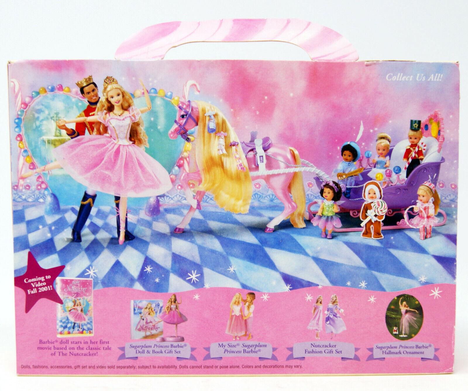 Barbie - Nutcracker - Special Collectible Set - - - Kelly Jenny & Kelly - 2001 d26eb3