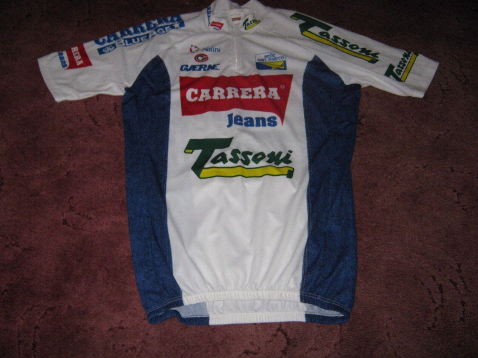autoRERA TASSONI GAERNE 1993 NALINI italiano vintage ciclismo Jersey [6]