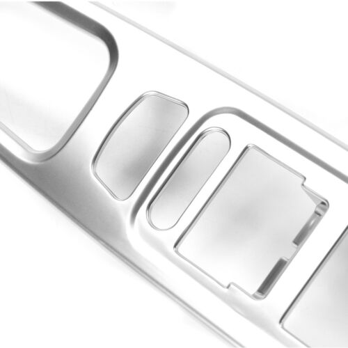 4pcs Silver Front Window Lift Panel Trim Frame Cover For Jeep Renegade 2015-2017