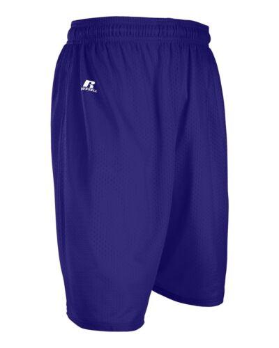 Russell Athletic Uomo S-XL 2X 3XL Pantaloncini Maglia Palestra,Basket,Calcio,