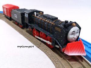 Snowstorm-On-Sodor-HIRO-ENGINE-amp-TRUCK-SET-Motorized-Thomas-TOMY-Trackmaster