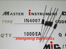 100PCS 1N4007 IN4007 1A 1000V DO-41 Rectifier Diode