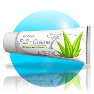 4x-FUSS-CREME-mit-Aloe-Vera-Extrakt-100ml-Fusscreme-Fusspflege-Salbe-Balsam