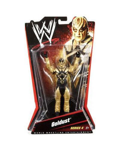 Official WWE Mattel Basic Series 4 goldust Figure