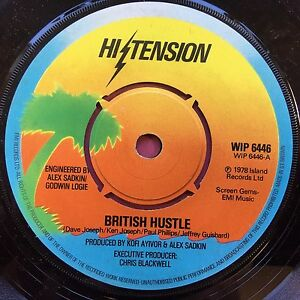 Hi-Tension-British-Hustle-Peace-On-Earth-Island-WIP6446-Ex-Condition-A1-B1
