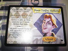 HARRY POTTER TCG DIAGON ALLEY DRACO MALFOY SLYTHERIN 5/ 80 RARE ENGLISH MINT