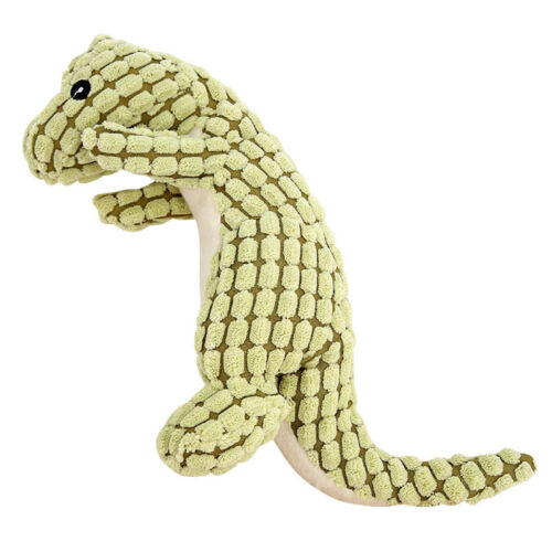 Pet Dogs Chewing Toy Puppy Squeaky Plush Sound Toys Small Dinosaur Design Toys