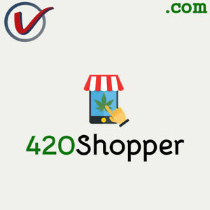 420Shopper.com | PREMIUM Cannabis Weed Marijuana COM DOMAIN NAME