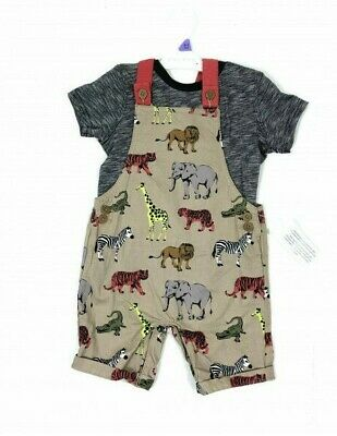 6-9,9-12months M/&S baby boy romper dungaree