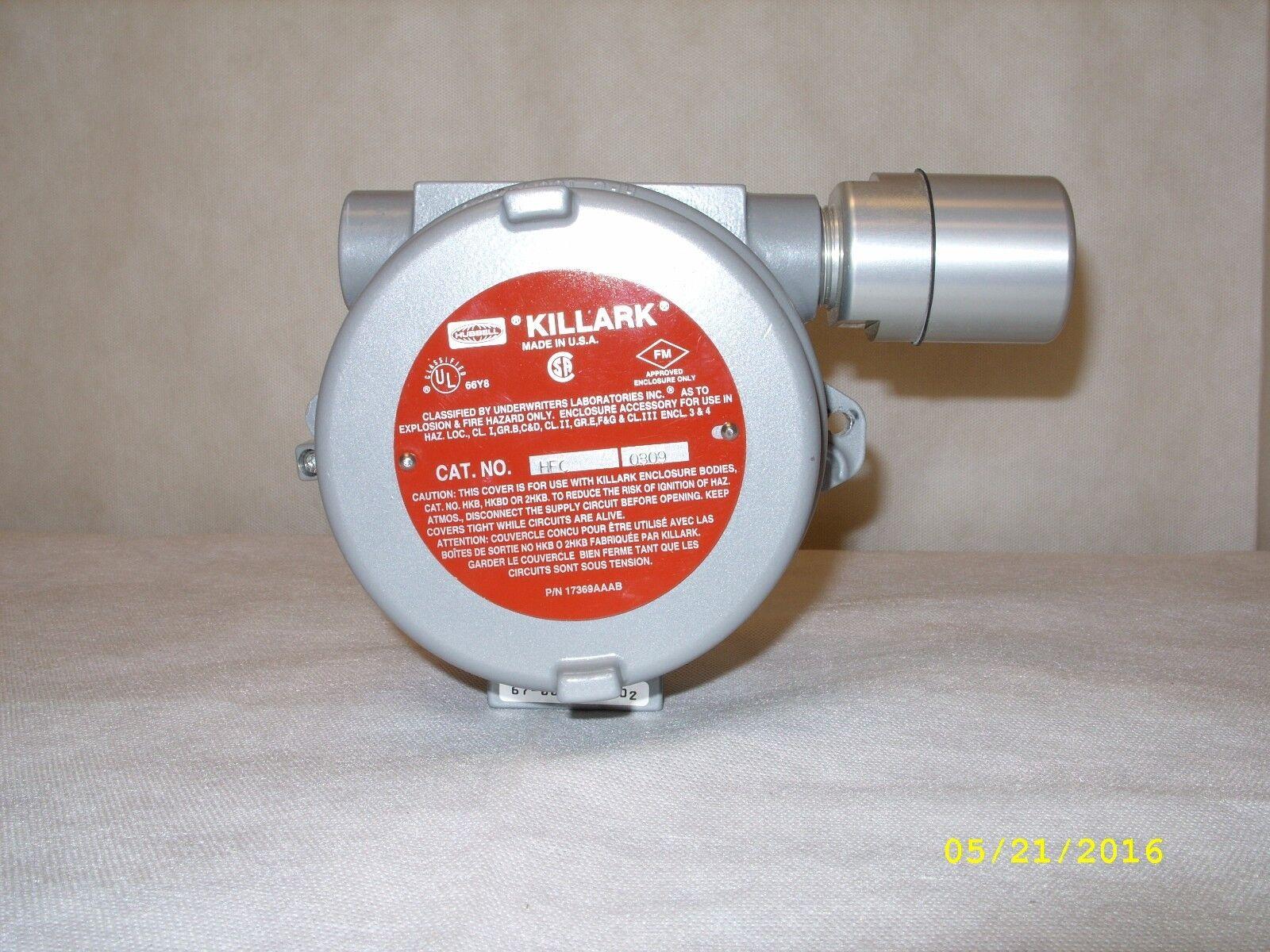 EXTRA Killark Gastech Explosion Proof Receptacle Box  SPM25122