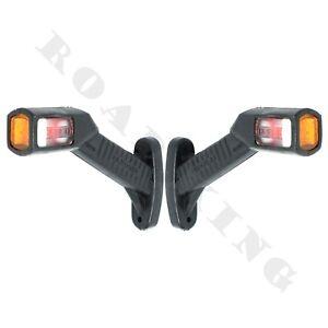 2-Stuck-LED-Umrissleuchte-Positionsleuchte-Begrenzungsleuchte-12V-24V-LKW-PKW