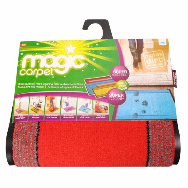 Magic Carpet Boot/&Shoe Mat Bath Mat Door Mat 16x32 grey