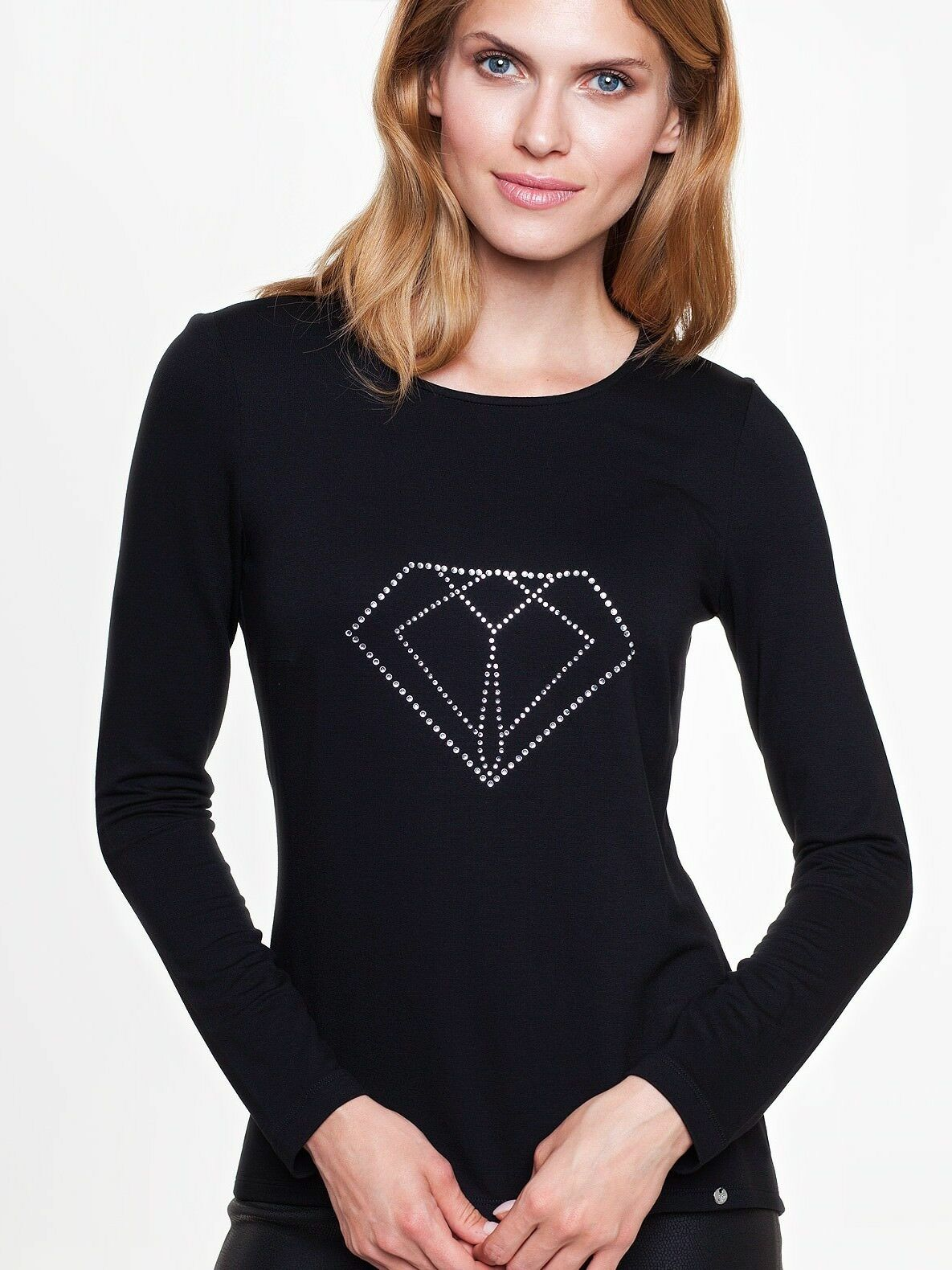 Longshirt Shirt Tunika Blause Stretch Langarm Schwarz  Gr. Gr. Gr. 38 40 44   Zu einem erschwinglichen Preis    Elegant Und Würdevoll    Spezielle Funktion  7e3520