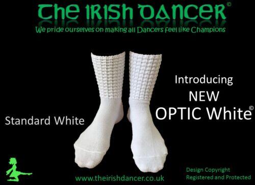 5 Pairs of White Ankle Length Poodle Socks OPTIC White Bulk Buy