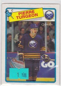 1988-88-89-O-Pee-Chee-OPC-194-Pierre-Turgeon-RC-Rookie-NM-Near-Mint