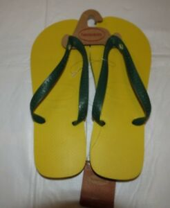4b9563d05 Image is loading Havaianas-Brasil-Mens-Flip-Flops-Sandals-Citrus-Yellow-