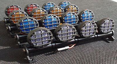 506 RC Car LED Multi Function LED Light Bar Aluminum 5 Modes 1/10 1/8 Tamiya 4WD