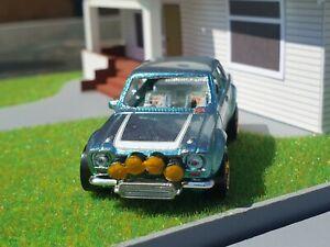 Custom-1-64-Scale-Hot-Wheels-Ford-Escort-Rs1600-Fog-Lights-amp-Intercooler