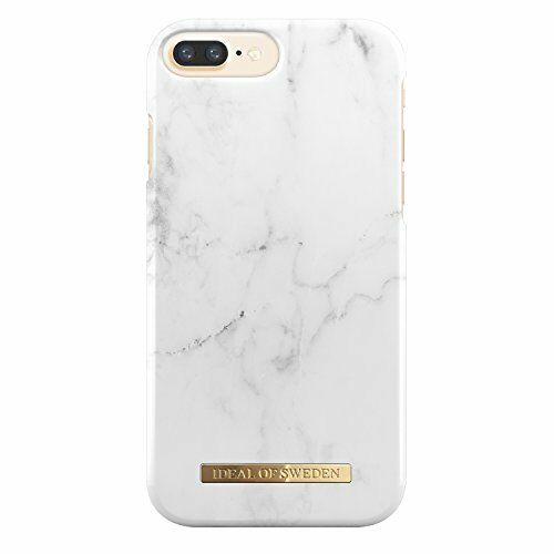 cheaper bef60 8a51d Ideal of Sweden Slim Hardshell Marble Case for Apple iPhone 7 Plus - White