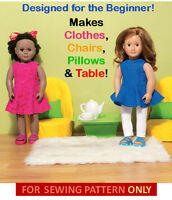 Sewing Pattern Make Doll Clothes Fit American Girl Mckennagrace Learn To Sew