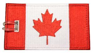 Canada-Flag-Embroidered-Luggage-Tag-NEVER-BREAKS