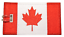 Canada-Flag-Embroidered-Luggage-Tag-NEVER-BREAKS thumbnail 1