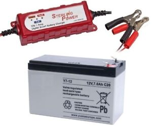 6 12v battery charger 7 amp battery humminbird for Fish finder battery