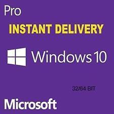 Microsoft Windows 10 Pro Lifetime Key Digital Key Instant Delivery 32/64 Bit