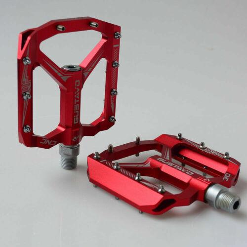 GUSTAVO Bike Pedals CNC MTB Bicycle Sealed Bearing Pedal Bike Accessories