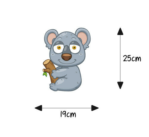 Sitzplatz WC Deckel Sticker Aufkleber Bad Toilette Koala Koalabär
