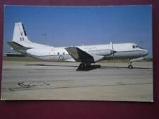 POSTCARD HAWKER SIDDELEY ANDOVER C1 XS637 OF 60 SQUAD AT BRIZE NORTON 1991