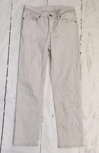 Levis 512 PERFECTLY SLIMMING Off White Ecru Denim