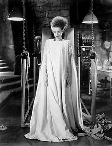 THE BRIDE OF FRANKENSTEIN BLACK AND WHITE 8x10 classic PHOTO 2A !!!
