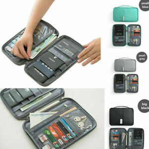 Travel-Wallet-Family-Passport-Holder-Waterproof-ID-Card-Document-Case-Bag-Hot