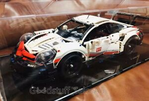 Display-case-for-Lego-Porsche-911-RSR-42096-Sydney-Stock-Top-Rated-Seller