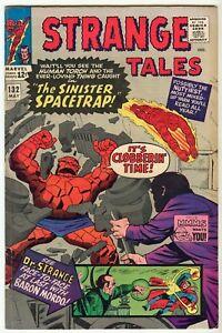 Doctor-Strange-Tales-132-FN-Jack-Kirby-1965-steve-Ditko-Clea-Dormammu-Mordo