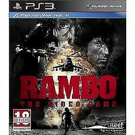 Rambo The Video Game Uk Edition Ps3 For Sale Online Ebay