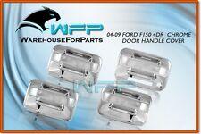 04-11 Ford F-150 4DR Chrome Door Handle Cover w/ Keypad w/o PSG Keyhole