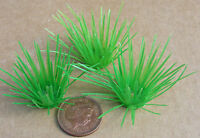1:12 Scale 3 Plastic Tufts Of Grass Dolls House Miniature Garden Accessory LG