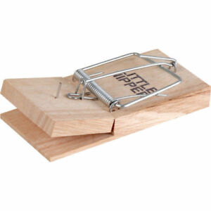Little-Nipper-Traditional-Wooden-Mouse-Trap-Single-or-Pack-of-5