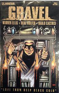 Gravel-1-VF-NM-1st-Print-Free-UK-P-amp-P-Avatar-Comics