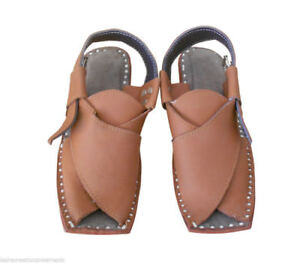 760a575b57e5 Men Sandals Indian Traditional Brown Shoes Loafers   Slip Ons Mojari ...