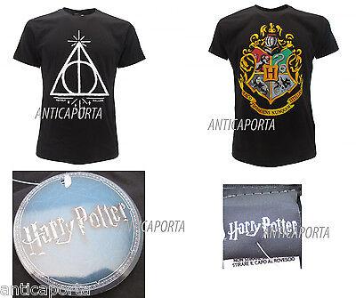 T-shirt Originale Harry Potter Originali Doni Della Morte Scuola Di Hogwarts Costruzione Robusta