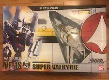 BANDAI 1/55 MACROSS VALKYRIE VF-1S Super Valkyrie ROBOTECH Roy Focker MIB NRFP
