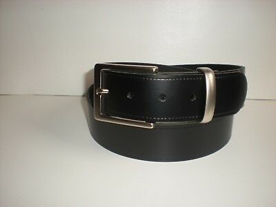 BROWN,NAVY,BURGUNDY GREEN TAN AND WHITE S TO  XXL M5R BN LEATHER BELTS IN BLACK